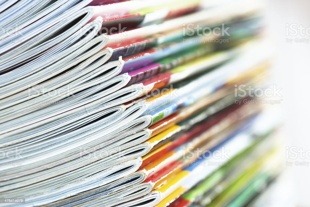 magazins stock photo