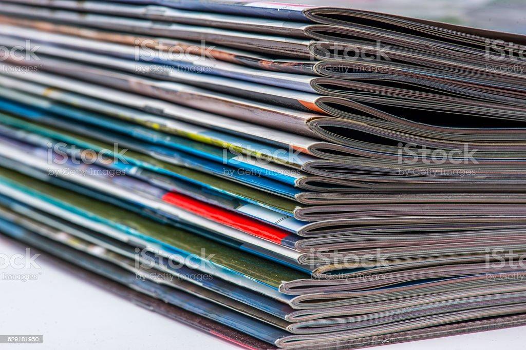 magazine stock photo