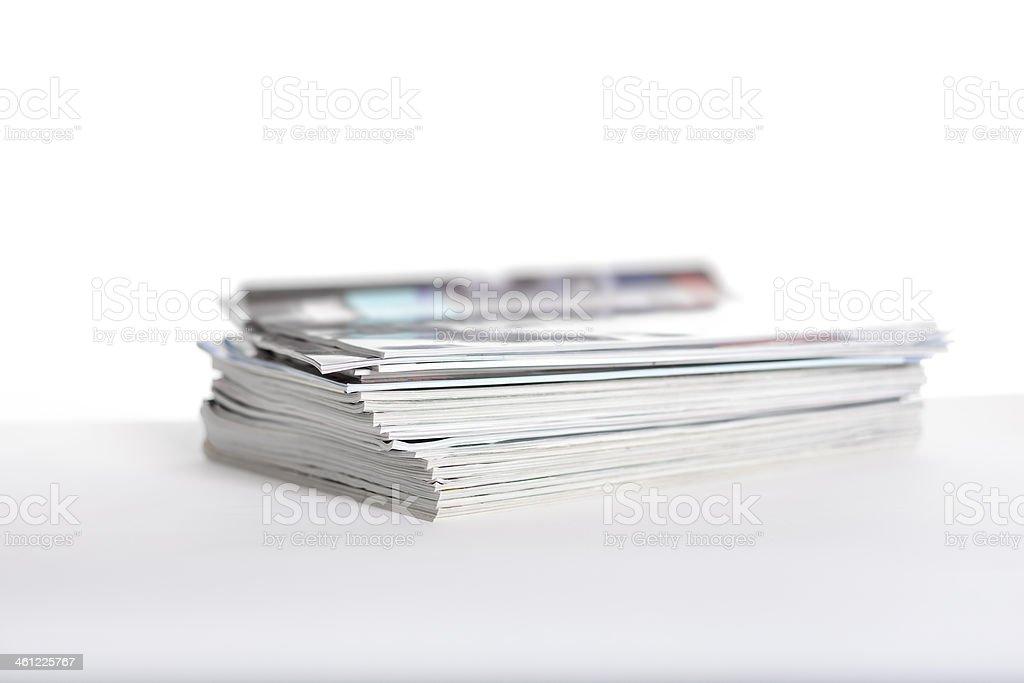 Magazines II royalty-free stock photo