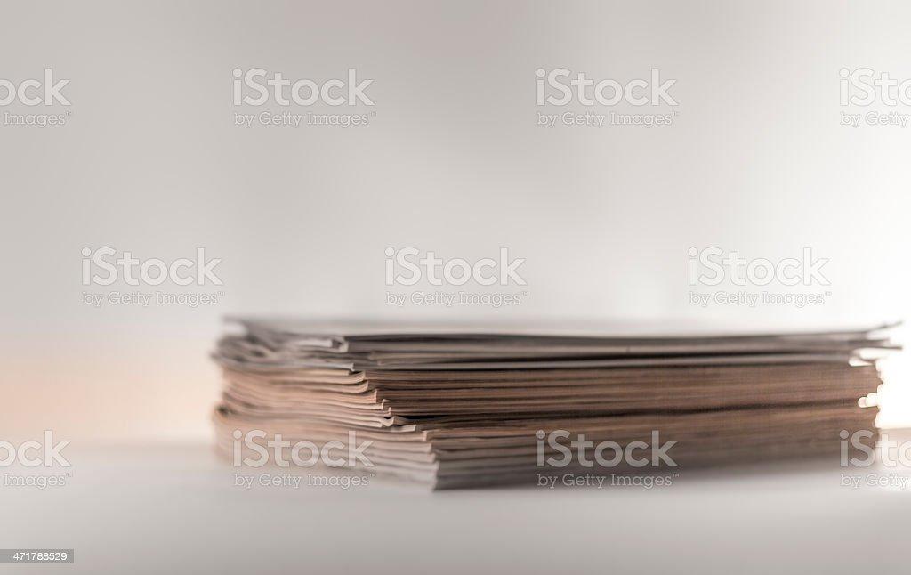 Magazines III royalty-free stock photo