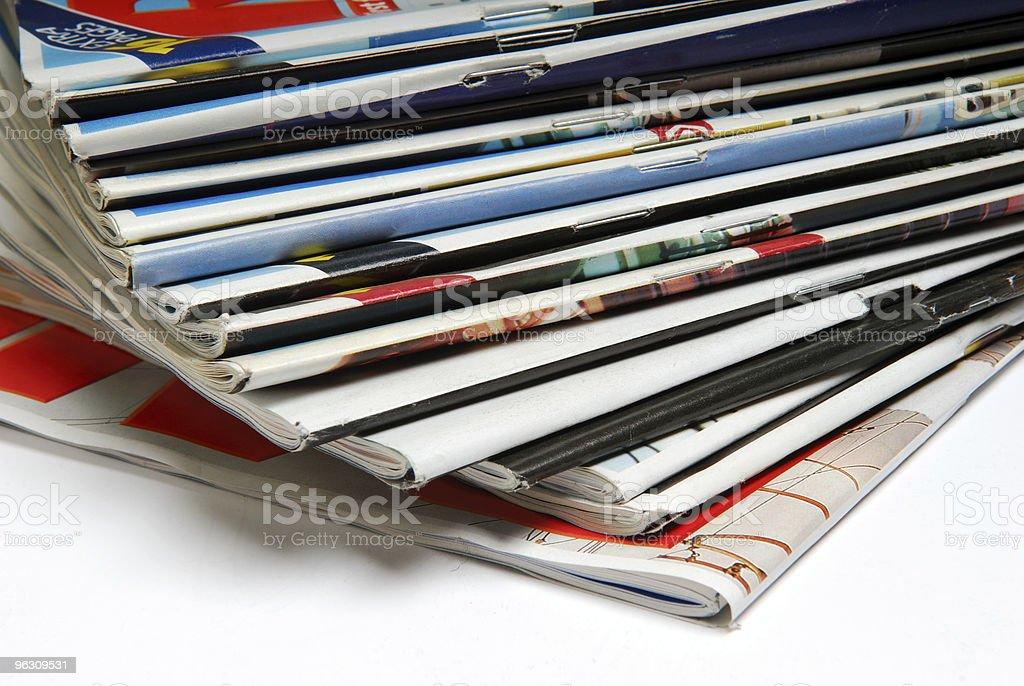 Magazines. royalty-free stock photo
