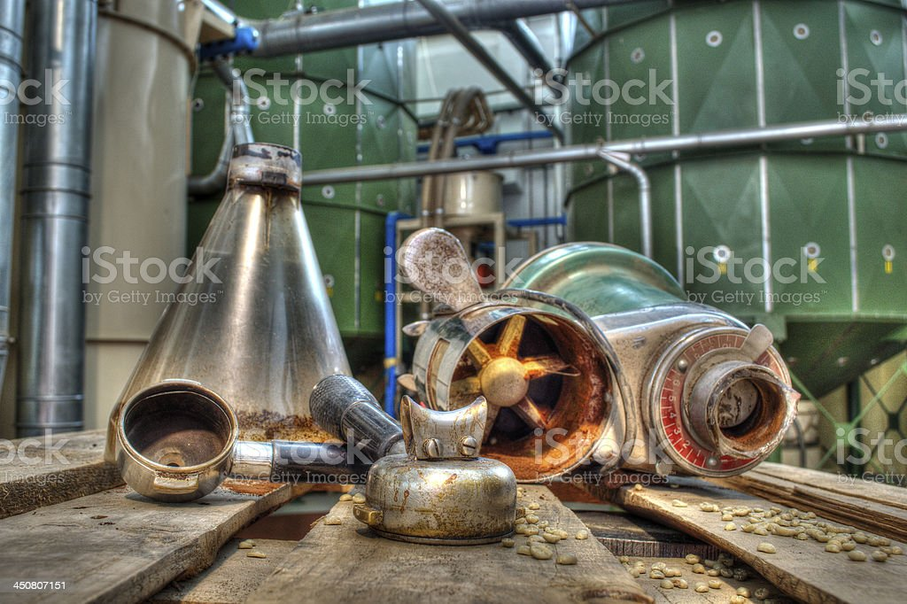 Magazzino Torrefazione Caff? stock photo