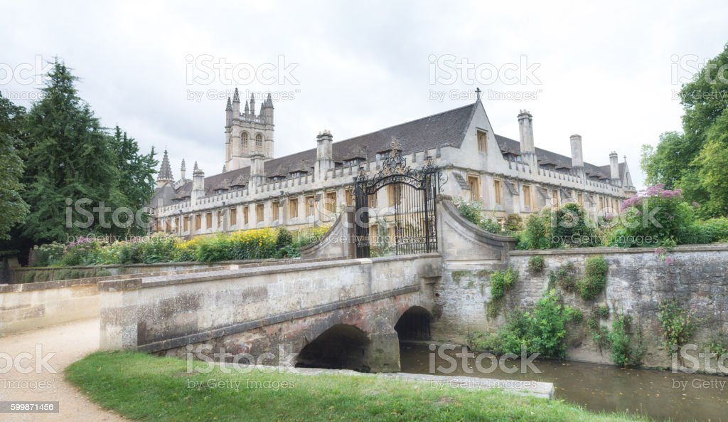 Magdalen College, Oxford UK stock photo
