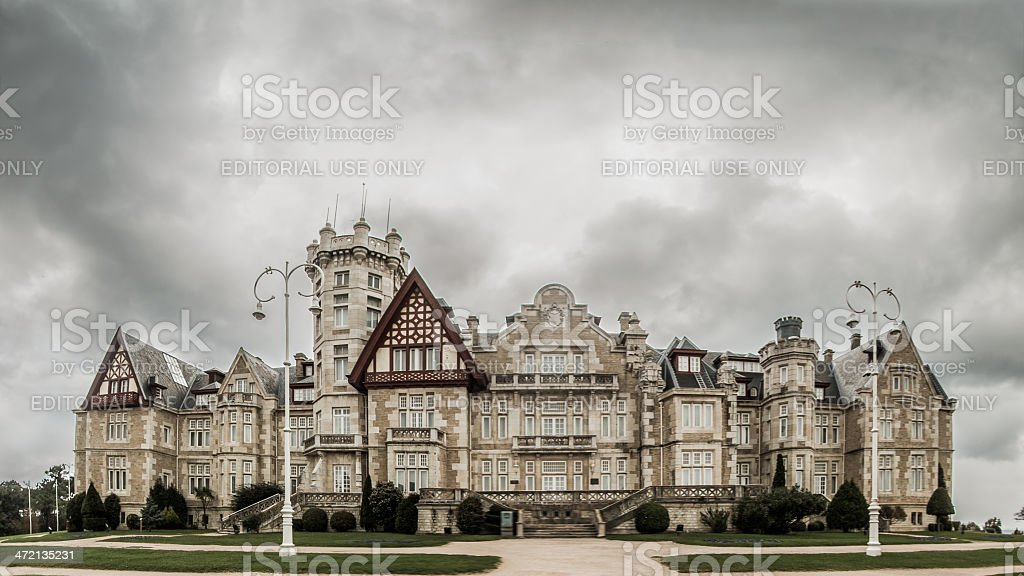 Magdalena Palace stock photo