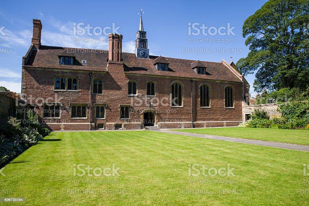 Magdalene College in Cambridge stock photo