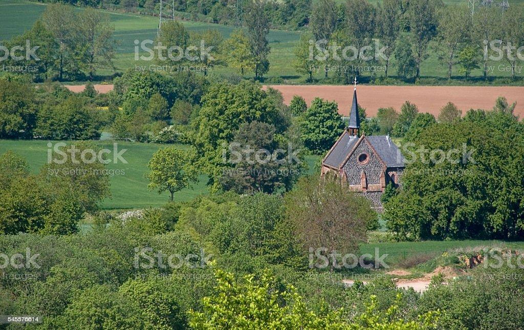 Magdalenen-Kapelle stock photo