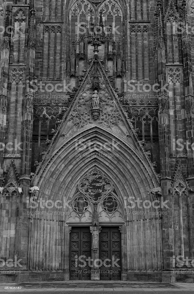 Magdeburger Dom stock photo