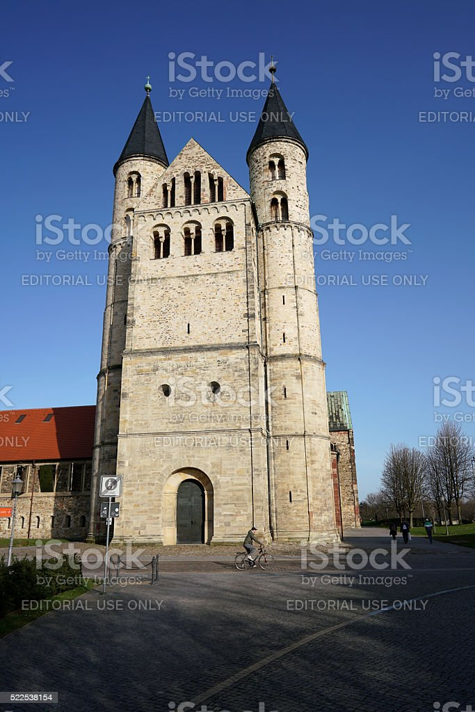 Magdeburg stock photo