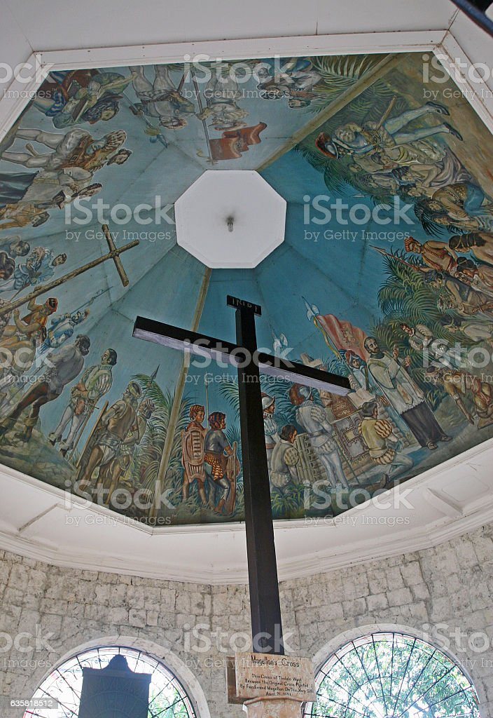 Magellan's Cross stock photo