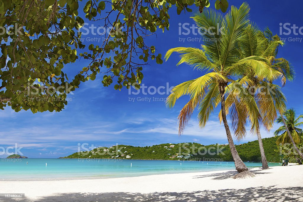 Magens Bay, St. Thomas, US Virgin Islands stock photo