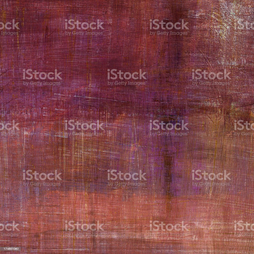 Magenta Abstract Painting royalty-free stock photo