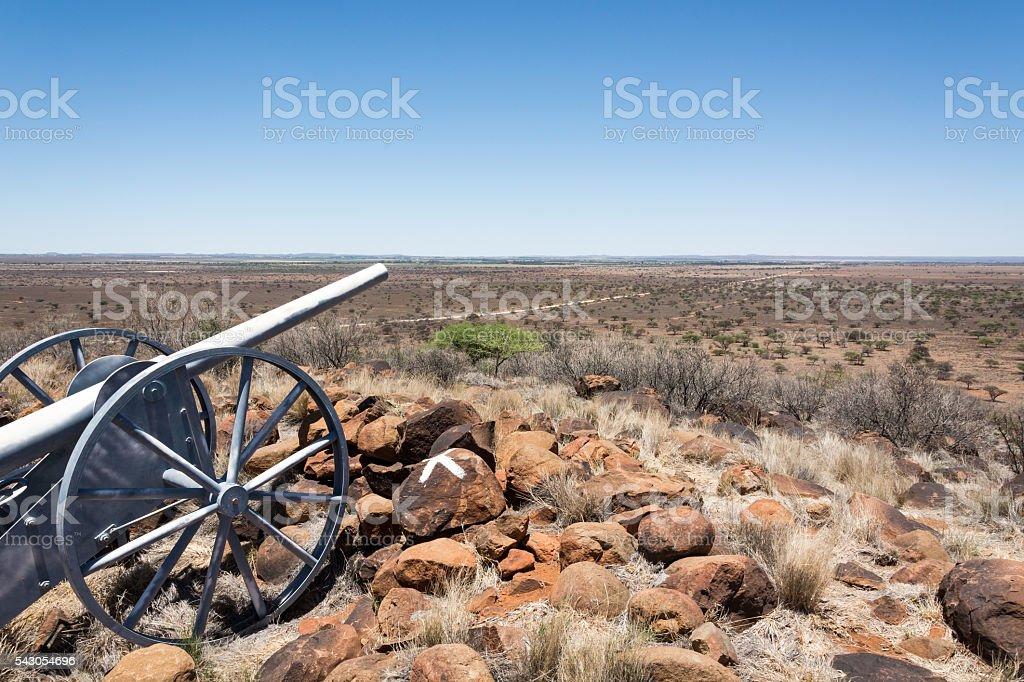 Magersfontein Battle Field stock photo