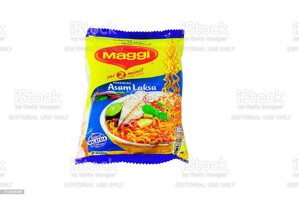 Maggi instant noodles stock photo