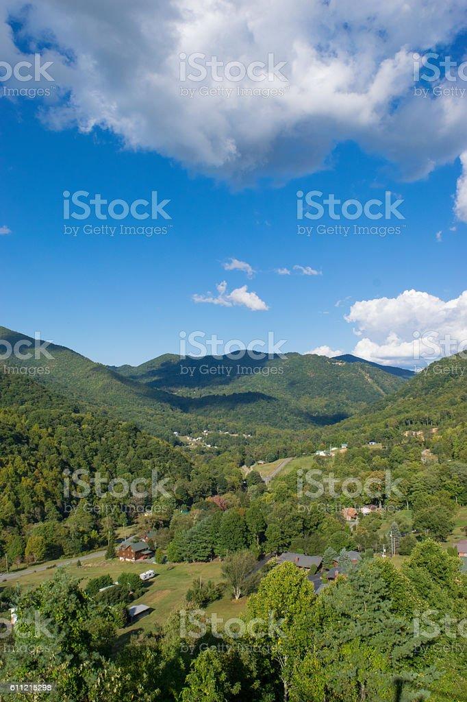 Maggie Valley, North Carolina stock photo
