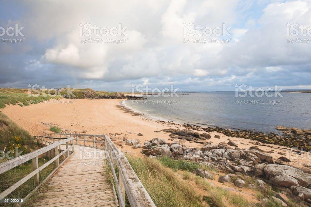 Maghera Beach, County Donegal. Ireland stock photo