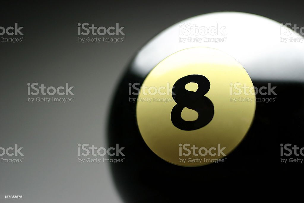 Magic 8 royalty-free stock photo