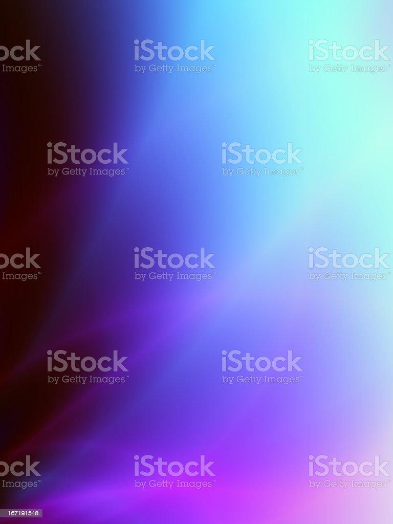 Magic blue abstract card design stock photo