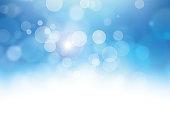 Magic blue bubbles