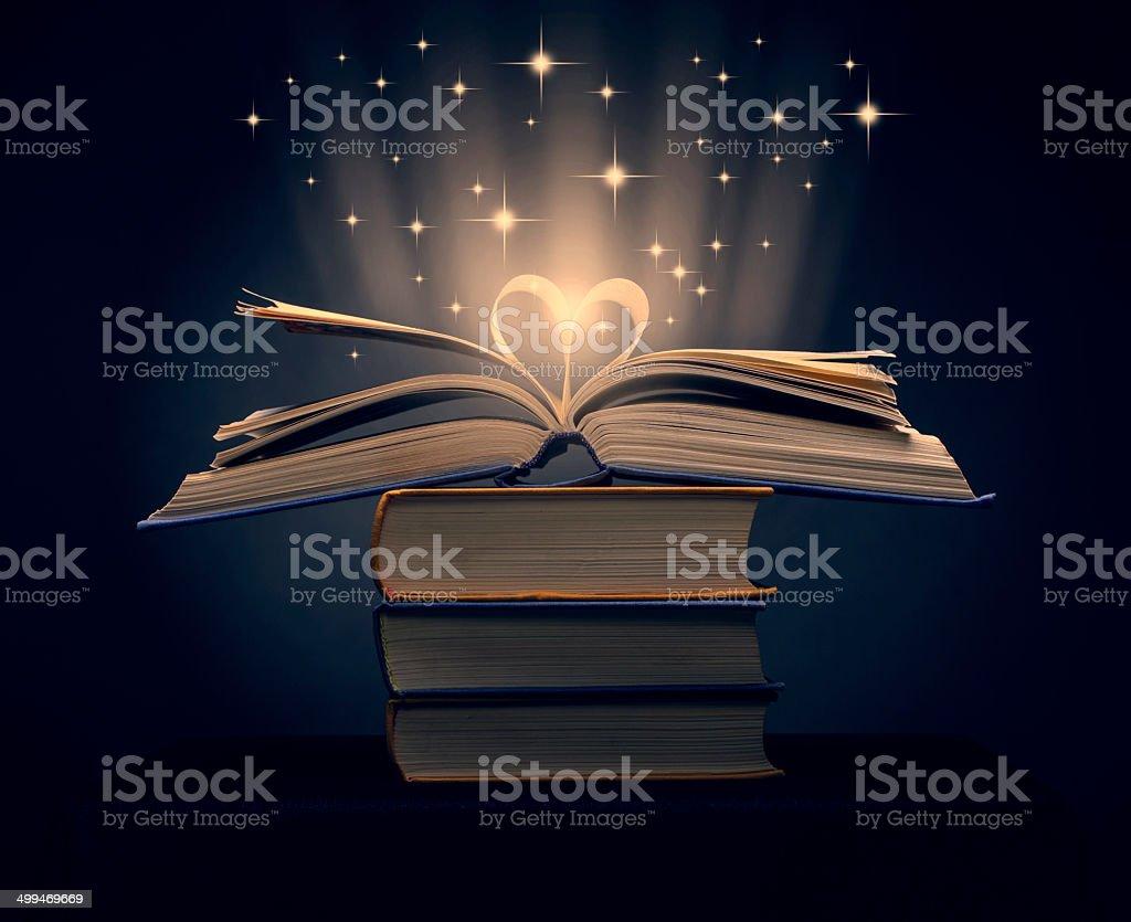 magic books royalty-free stock photo