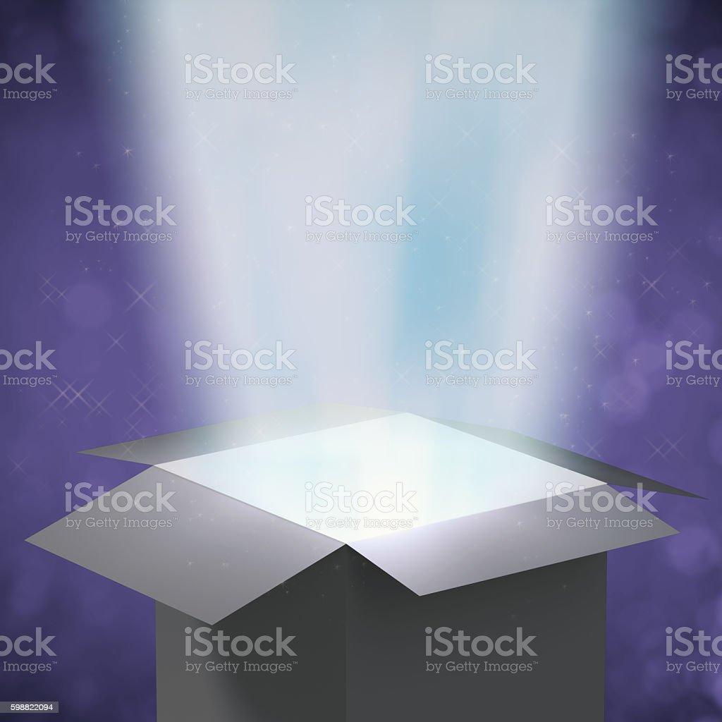 magic box stock photo