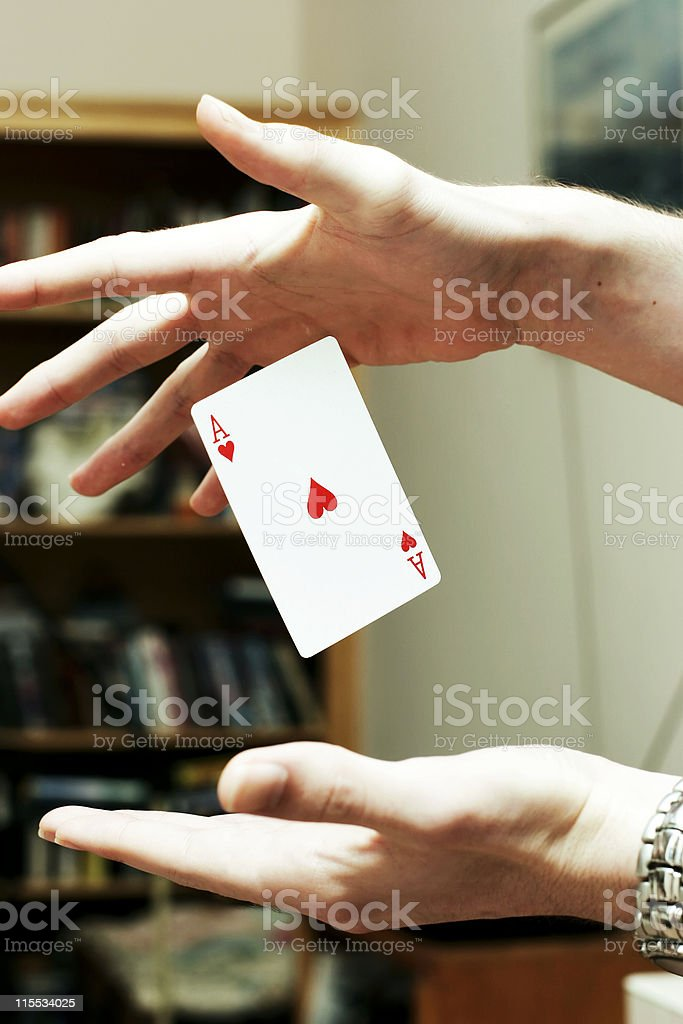 Magic Card royalty-free stock photo