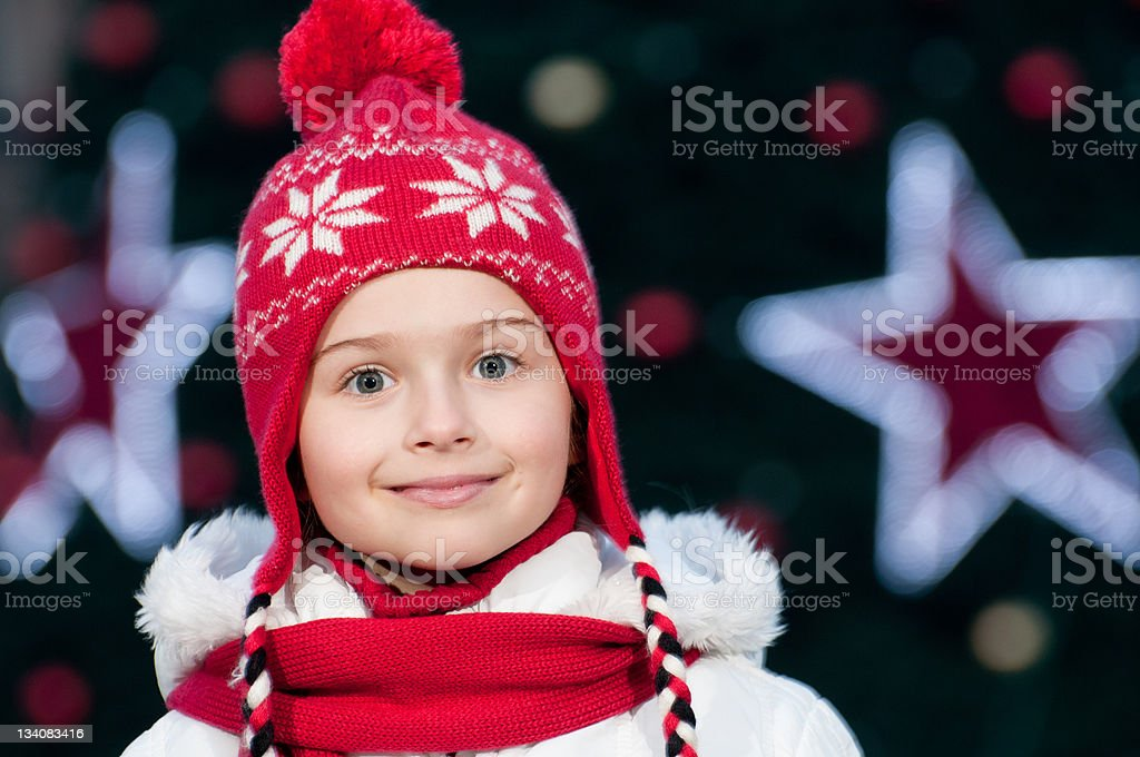 Magic Christmas night royalty-free stock photo