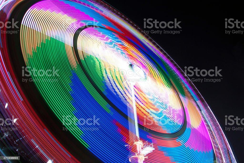 Magic color circle royalty-free stock photo
