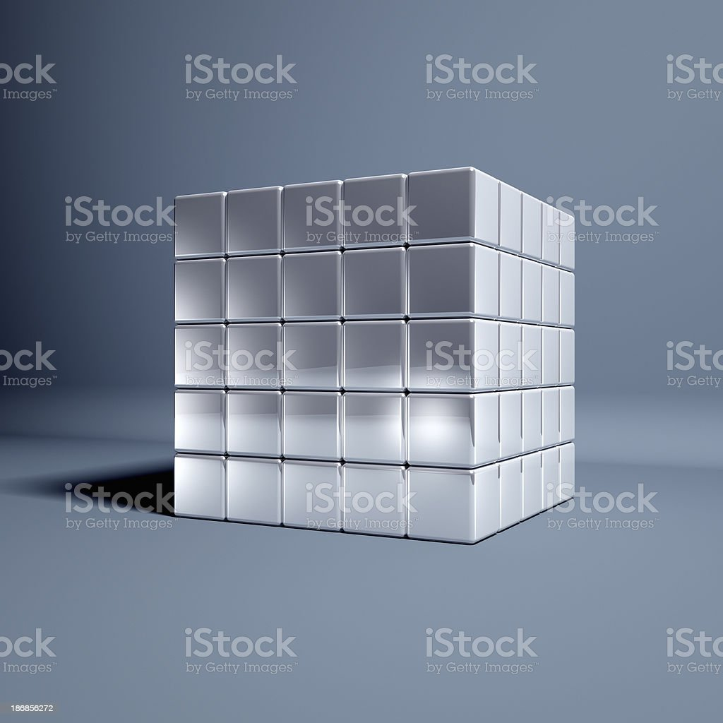 Magic Cubes stock photo