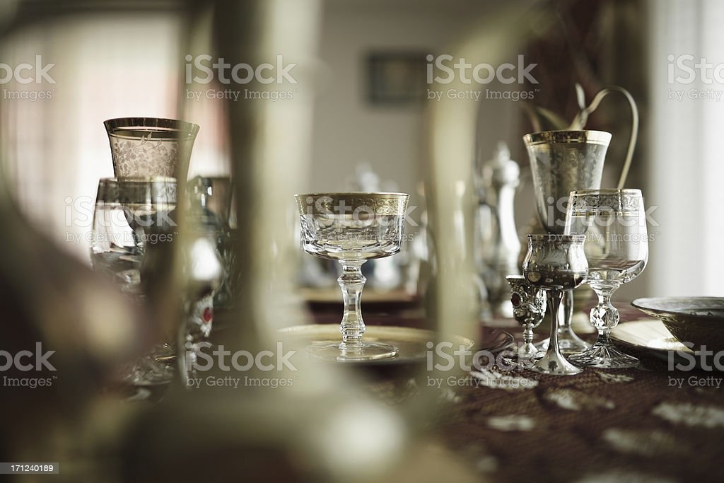 magic dining royalty-free stock photo