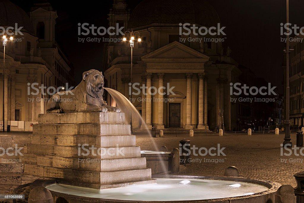 Magic dreams of Rome royalty-free stock photo