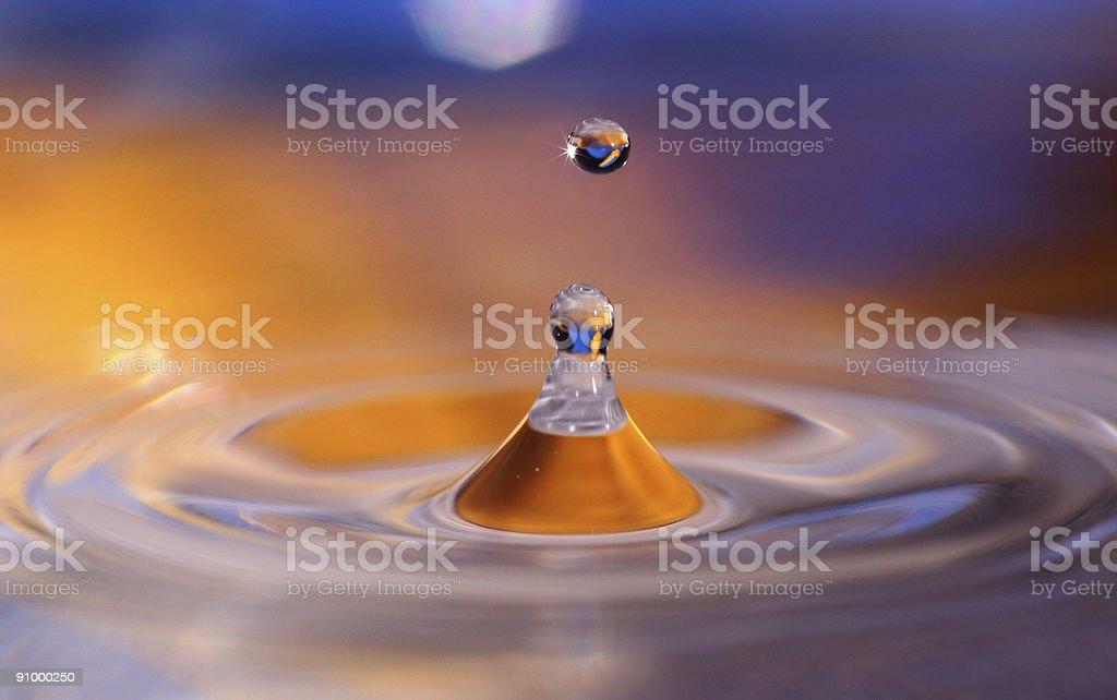 Magic Droplet royalty-free stock photo