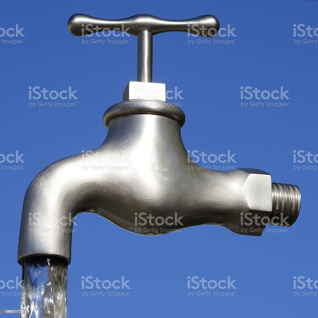 Magic Faucet royalty-free stock photo