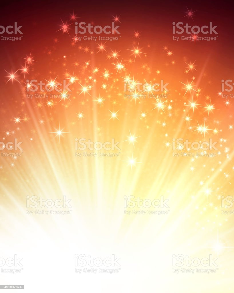 Magic festive background stock photo