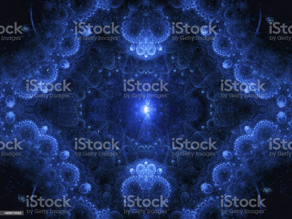 Magic genesis abstract background royalty-free stock photo