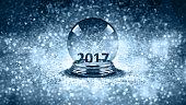 magic glass Christmas ball 2017