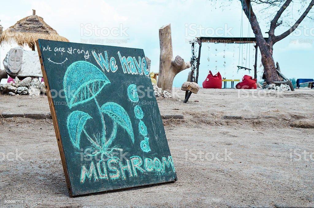 Magic hallucinogenic mushrooms - Stock image stock photo