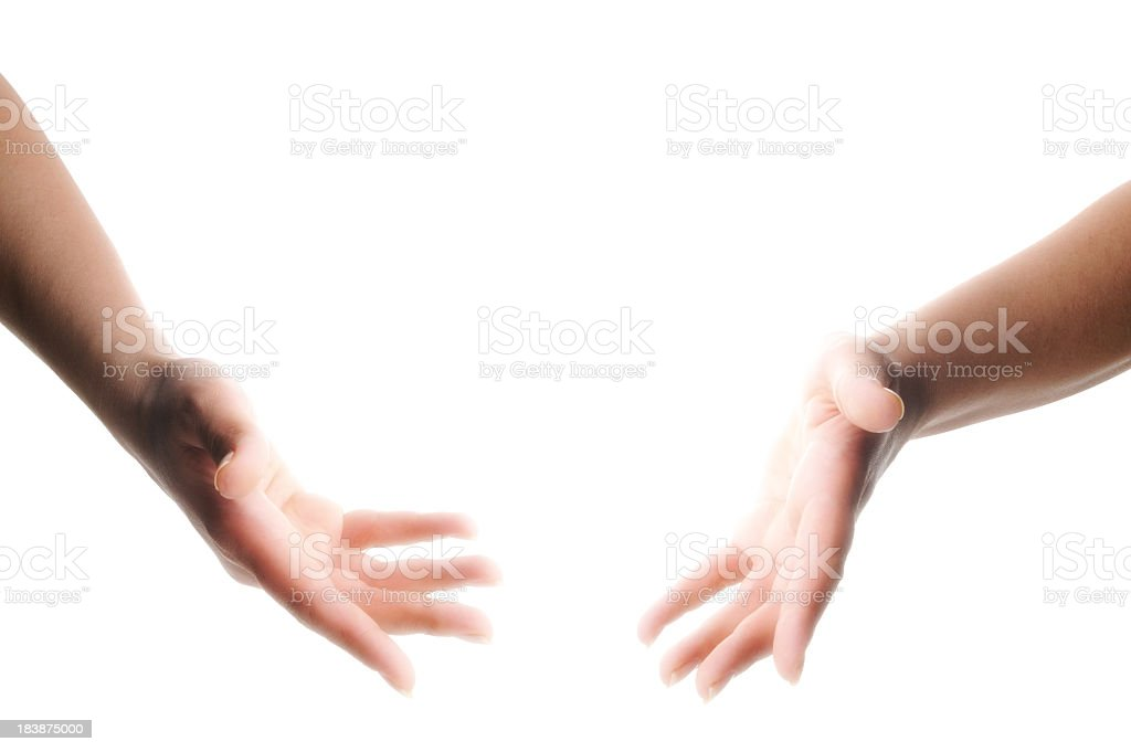 Magic Hands royalty-free stock photo