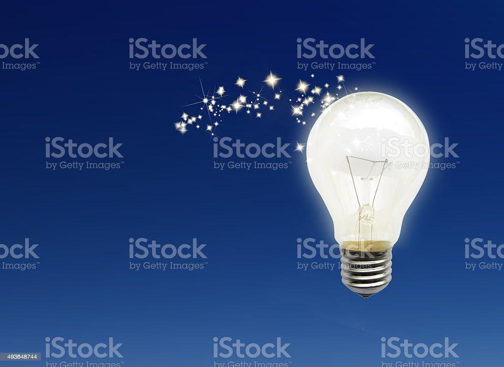 Magic idea stock photo