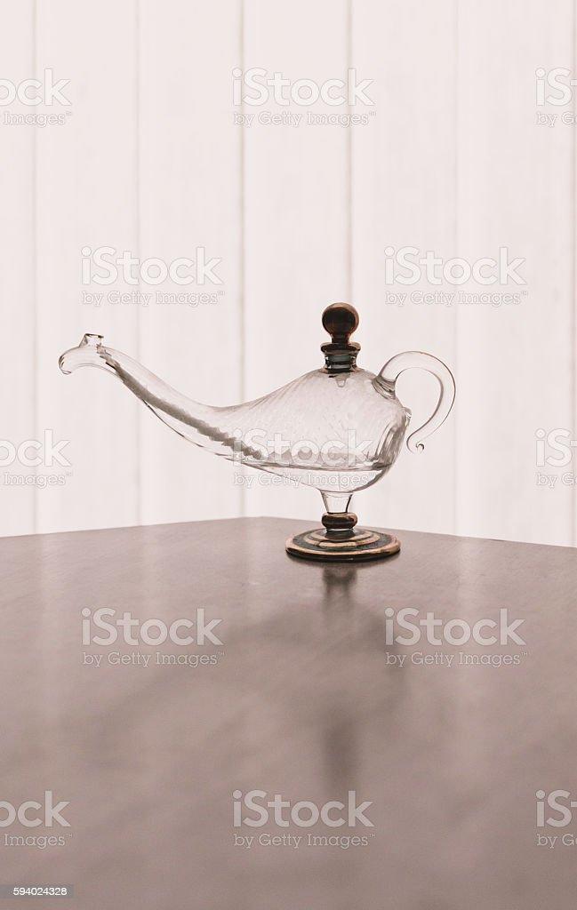 Magic Lamp Duptone stock photo