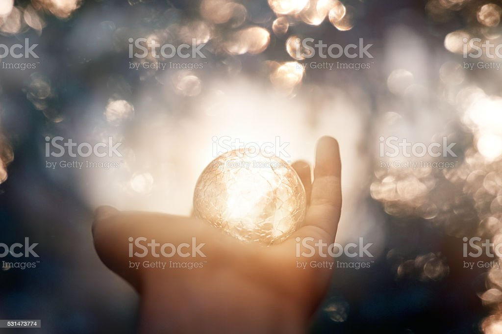 magic moment stock photo