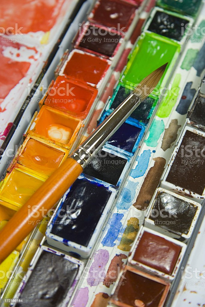 Magic of colors royalty-free stock photo