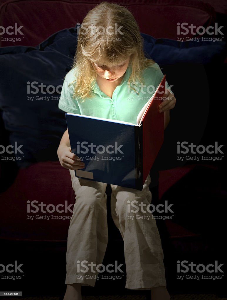 Magic of Reading royalty-free stock photo