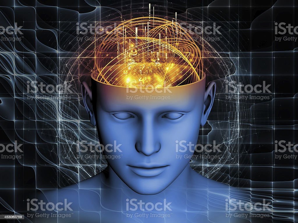 Magic of the Mind royalty-free stock photo