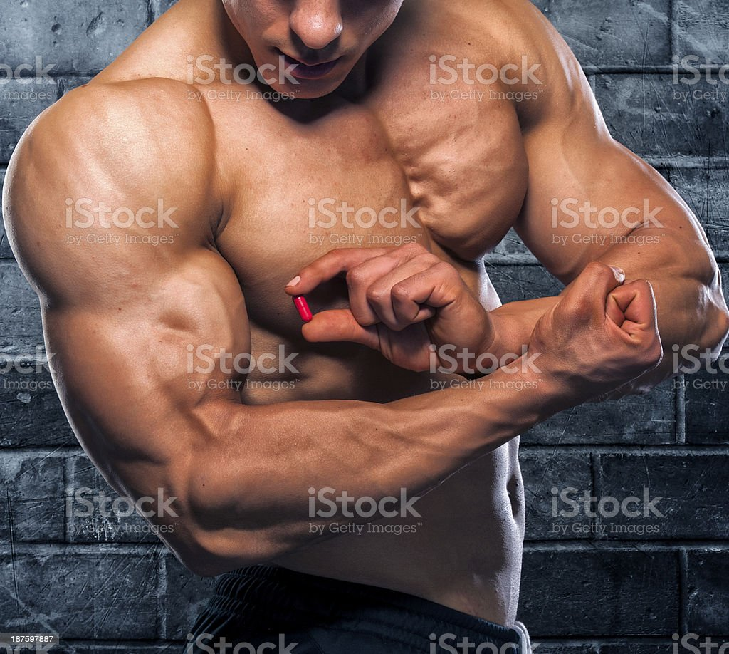 Magic Pill stock photo