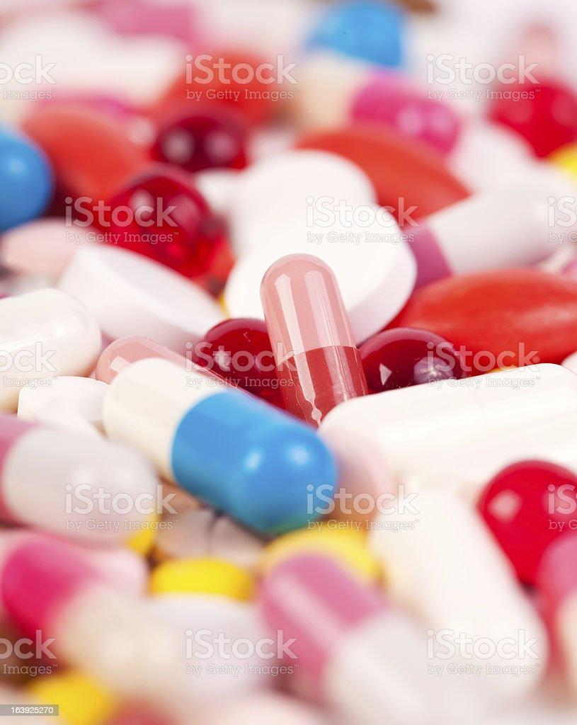 Magic pills royalty-free stock photo