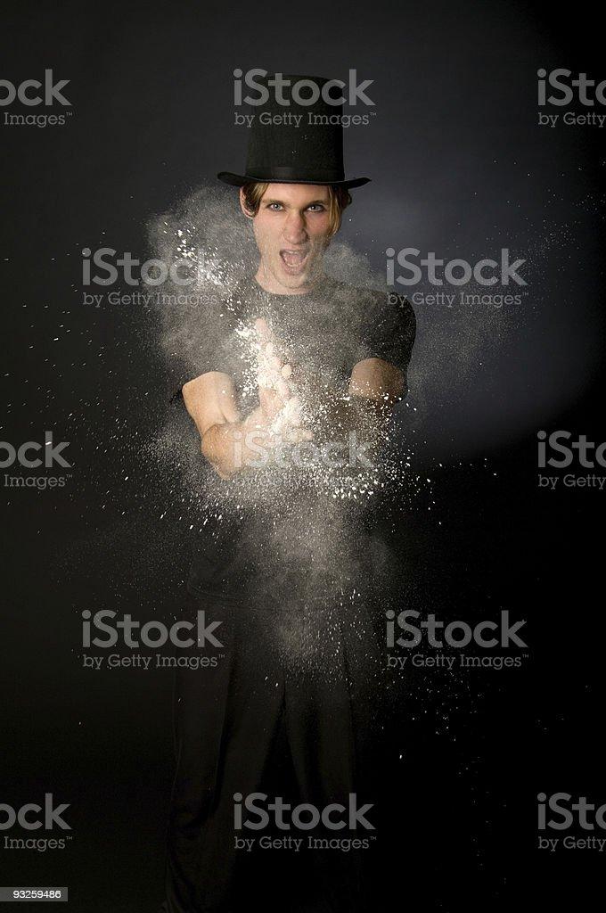 Magic Powder royalty-free stock photo