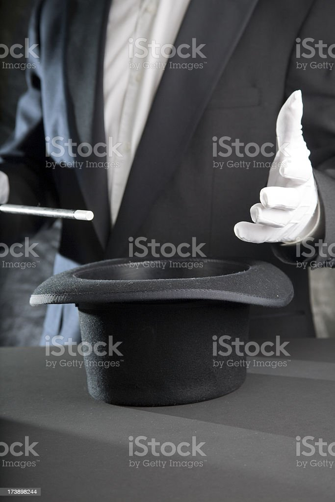 Magic Show royalty-free stock photo