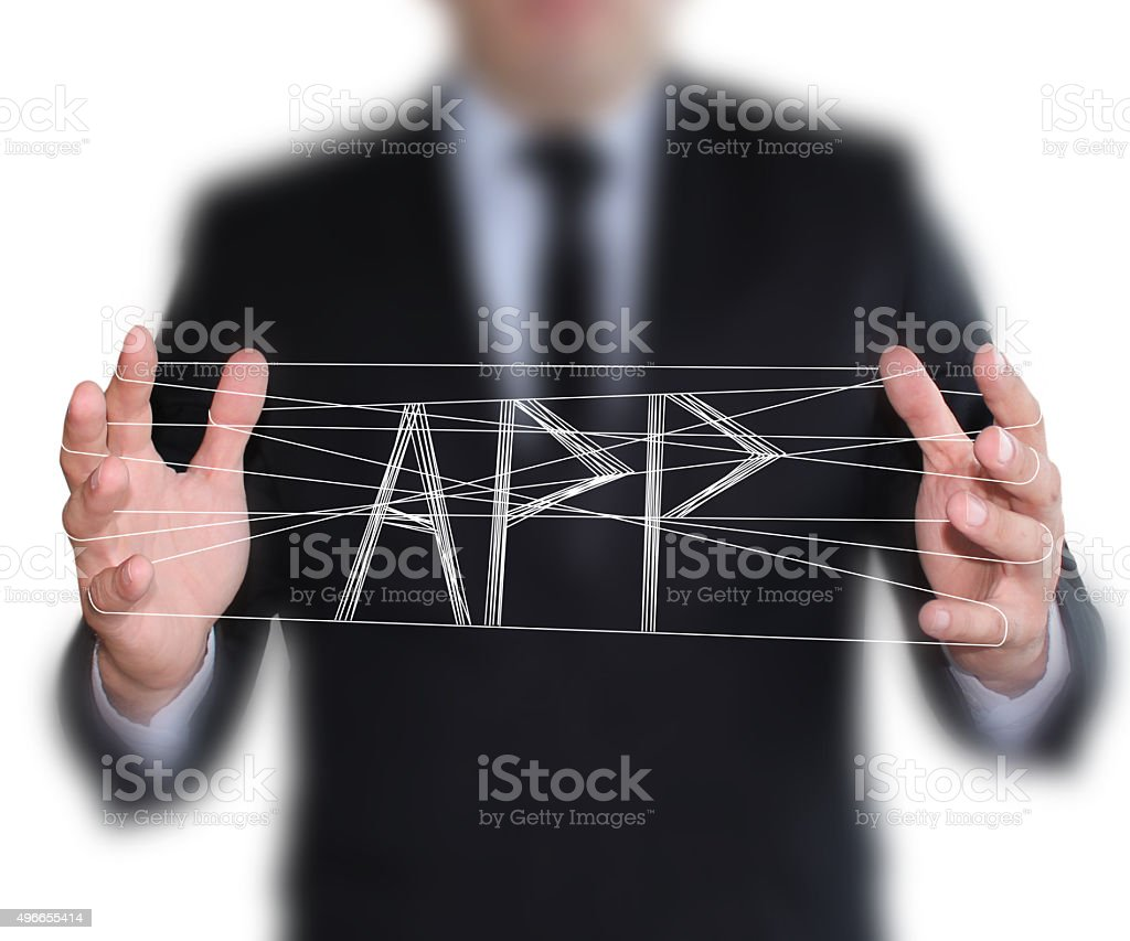 Magic Solution: Develop APP stock photo