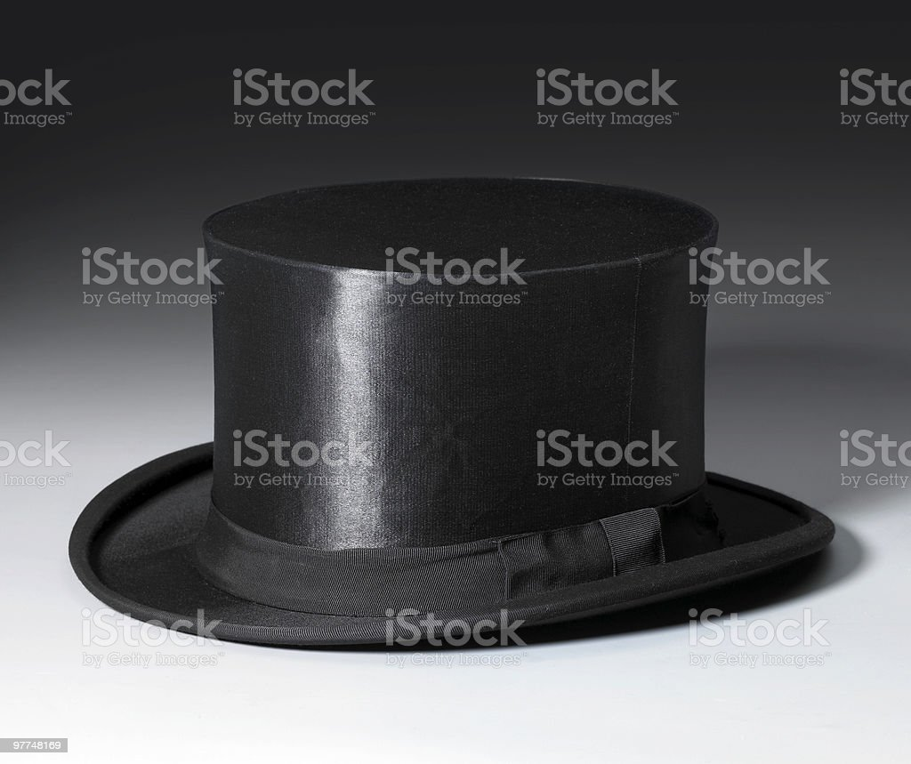 magic stovepipe hat royalty-free stock photo