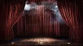 Magic theater scène
